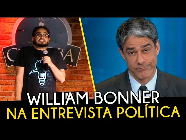 MATHEUS CEARÁ - WILLIAM BONNER NA ENTREVISTA POLÍTICA STAND UP