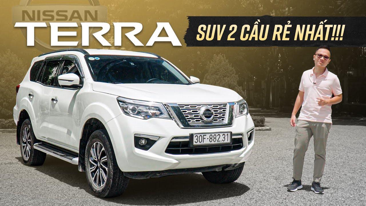 Xem nhanh Nissan Terra: SUV 2 cầu rẻ nhất, thấy ngay khác biệt với Fortuner, Pajero Sport