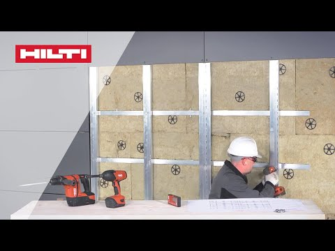 Hilti - MFT-FOX HT Ventilated Facade Installation Video