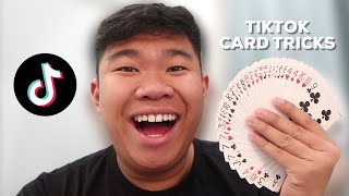 HOW TO DO 3 EASY CARD TRICKS (TikTok Magic Revealed)