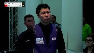 Tình huống bi chạm hai băng gây tranh cãi của Mã Minh Cẩm