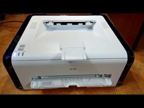 Ricoh SP 210SU Multifunction Laser Printer Problum & Fix Firmware