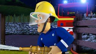 Sam le Pompier en français 🚒🔥Conseil de sécurité la nuit | Compilation | Dessin animé