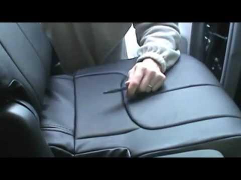 Clazzio Seat Covers AutoEQca Back Installation On 2013 Prius V Part 1