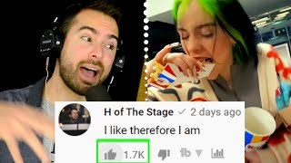 Is it just me, or could this be an epic disney evil villain/princess song?! love the new billie eilish song ''therefore i am'' and let me show you why! music...