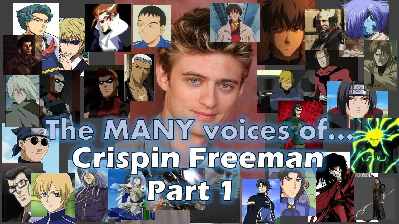 crispin freeman voice actor