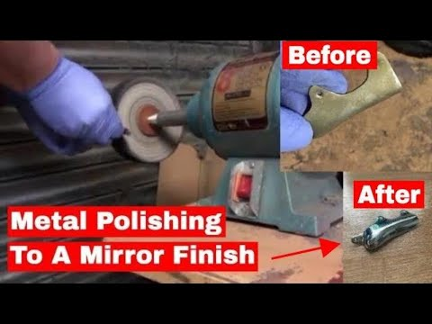 How to Polish Metal to a Mirror Finish
