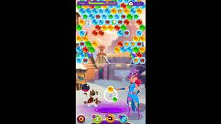 Bubble Witch 3 Saga Level 726 No Boosters