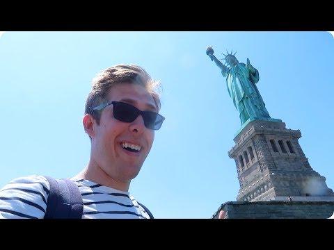 Visiting the Statue of Liberty! | Evan Edinger Travel