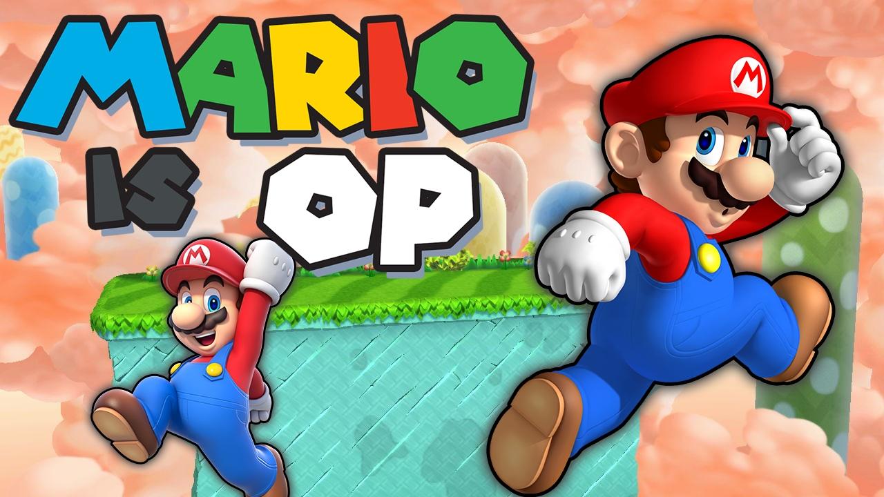 Mario is OP - Smash Bros. Wii U Montage