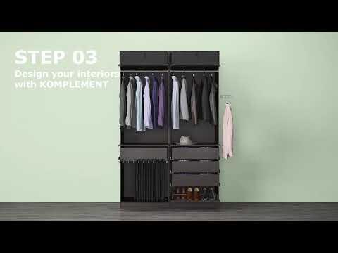 Creating Your Dream PAX Wardrobe In 4 Easy Steps | IKEA Australia