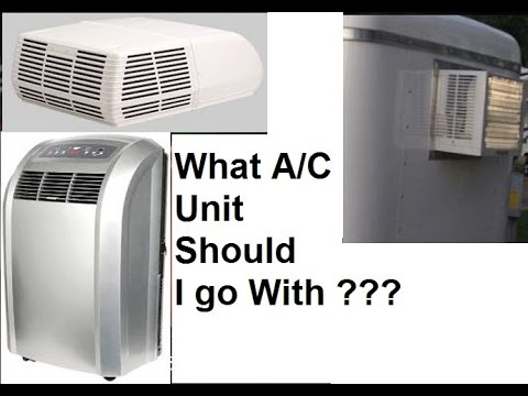 6x12 Enclosed Trailer Conversion ( WHAT AC UNIT DO I NEED?)