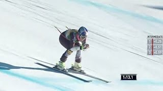 Lindsey Vonn 5th in Lake Louise Super G - Universal Sports