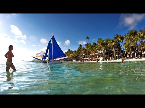 Boracay Island Philippines [ GoPro Hero Time Lapse ]