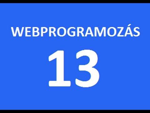 PHP Alapok (webprogramozás 13. Rész)