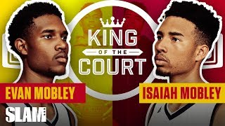 Mobley Brothers CRAZY 1-ON-1 Battle | SLAM King of the Court 👑