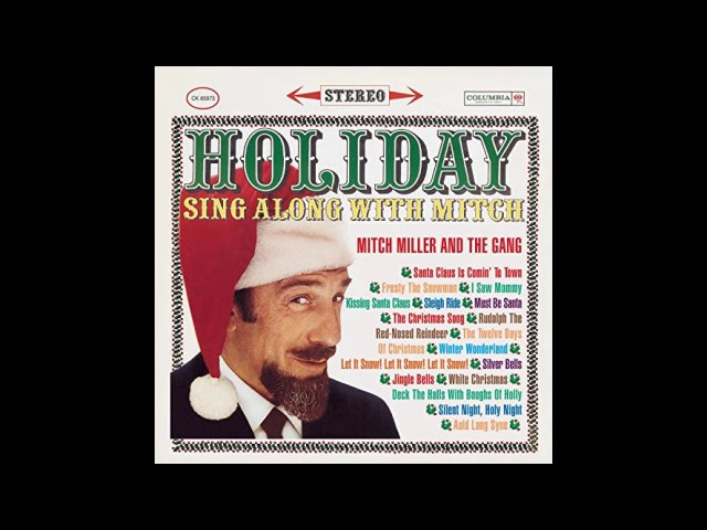 mitch miller and the gang holiday sing along with mitch full vinyl album clipfail