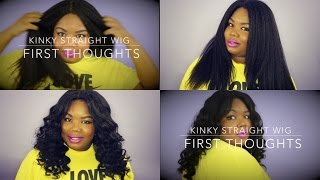 Bliss Wigs Kinky Straight Wig Aliexpress (First Thoughts)