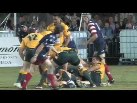 World Rugby Classic 2013: USA vs Australia (2nd Half)