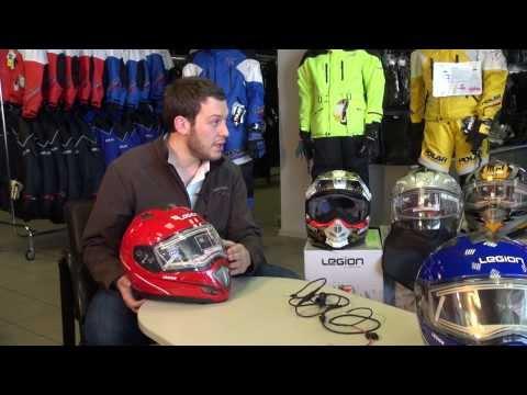 Снегоход. Как подготовить новый снегоходный шлем к первой поездке