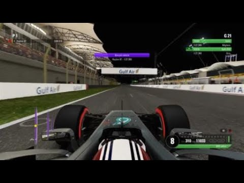 BAHRAIN HOTLAP 1:27,369 (Pad) - BEST PAD LAP ON PS4? (See you in F1 2018 ;) )