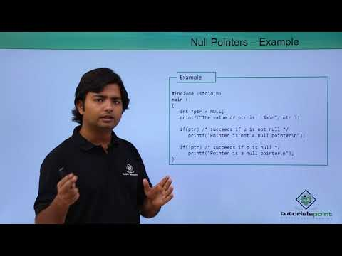 C - Null Pointers