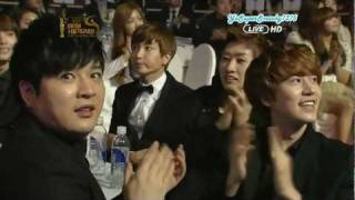 120119 SMA - Super Junior off-stage cuts