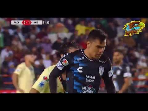 Diego Lainez en Pachuca 1-3 América del Apertura 2018