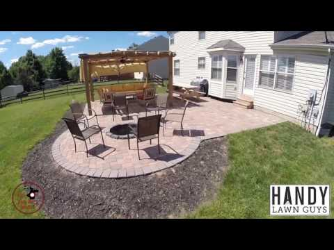 Handy Lawn Guys Patio Construction