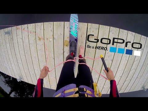 GoPro Waterskiing