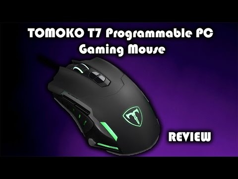 f3ab1796426 TOMOKO T7 Programmable PC Gaming Mouse Review - YouTube