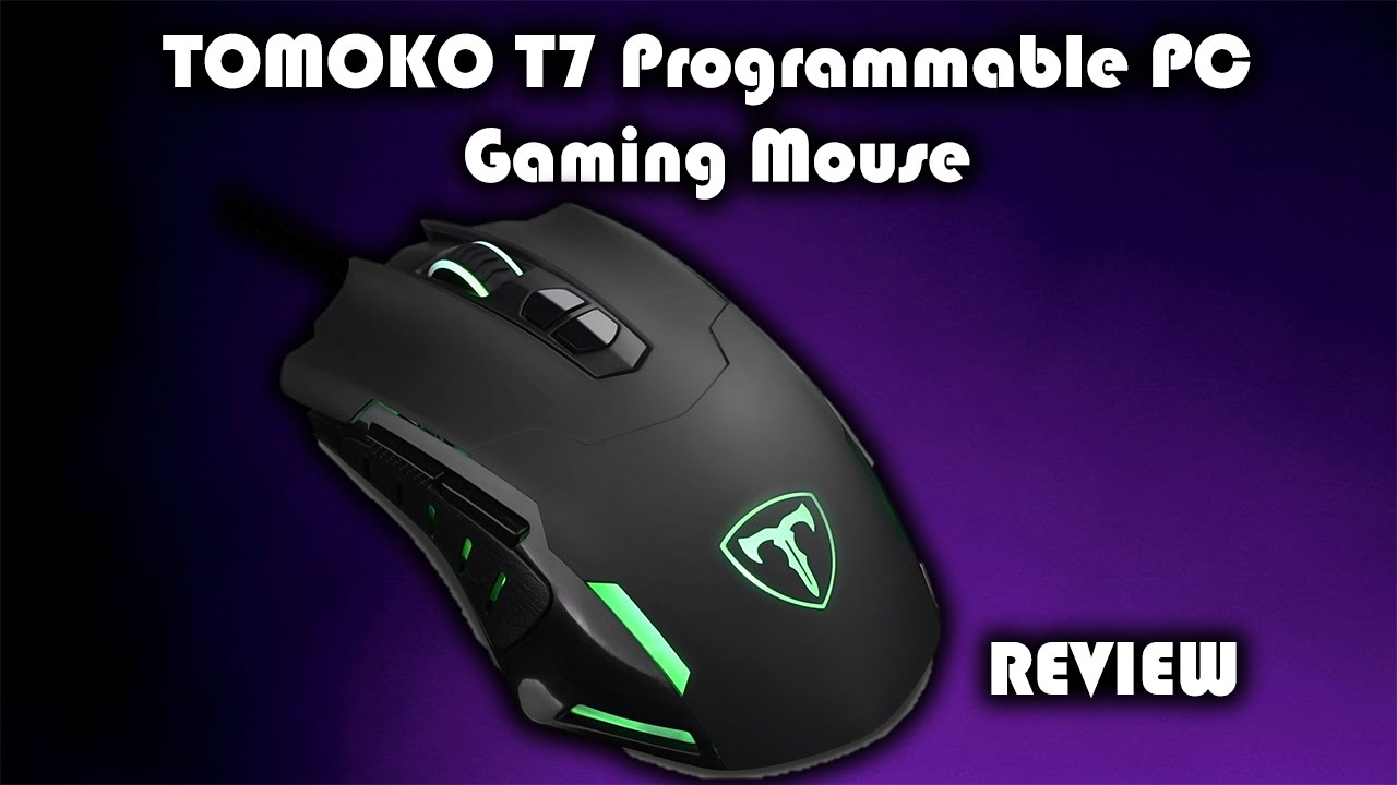 Tomoko Piktek T7 Programmable Pc Gaming Mouse Review Youtube