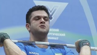 2016 Asian Weightlifting Championships, Men 105 kg \ Тяжелая Атлетика. Чемпионат Азии