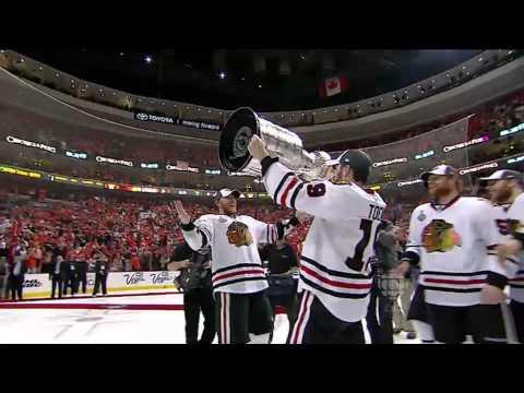 Blackhawks hoist Stanley Cup 6/9/10