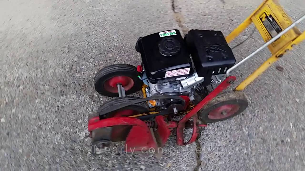 Mclane Edger Engine Replacement