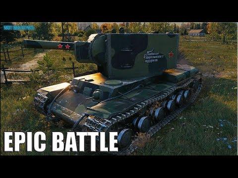 КВ-2 магия крупного калибра World of Tanks