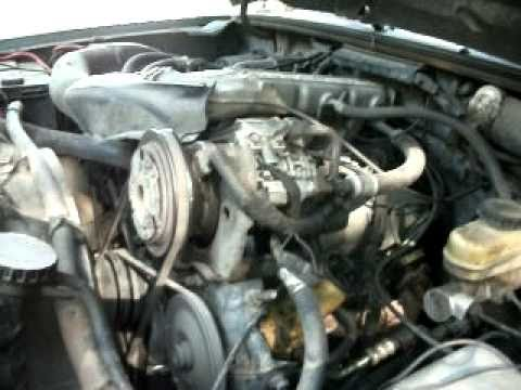 1989 Ford Ranger 4x4 2 9l V6 Engine Youtube