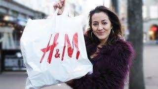 5 minuten gratis shoppen bij de H&M