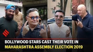 Maharashtra Assembly Election 2019: Bollywood A-listers vote