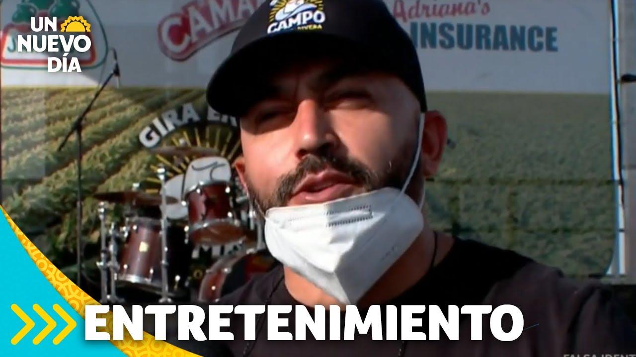 ¡Lupillo Rivera y su familia cierran su 'Gira en el Campo'! | Un Nuevo Día | Telemundo