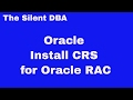 Install CRS for Oracle RAC