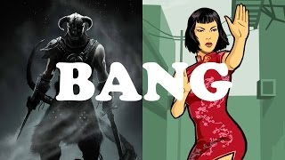 GAMES THAT SHOULD BANG - Skyrim & GTA Chinatown Wars