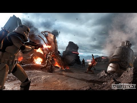 Star Wars Battlefront - 6 Minutes of Drop Zone Gameplay on Sullust