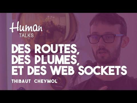 Des routes, des plumes, et des web sockets par Thibaut Cheymol