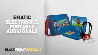 Walmart Cyber Monday Ematic Electronics Portable Audio Deals: Paw Patrol 7