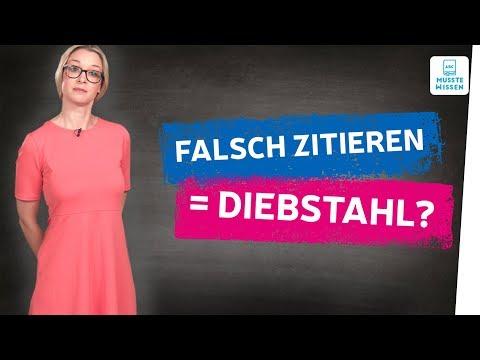 Richtig Zitieren I So Zitierst Du Richtig I Zitate Deutsch