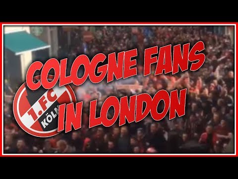 20.000 Cologne Fans in London 14.09.2017
