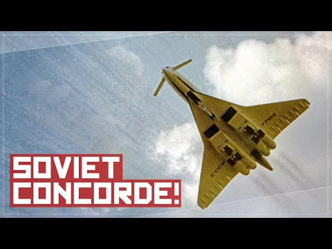 Thumbnail: Why You Wouldn't Want to Fly On The Soviet Concorde - The TU-144 Story