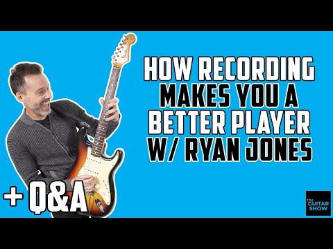 How Recording Makes You A Better Player w/ Ryan Jones - LIVE Q&A
