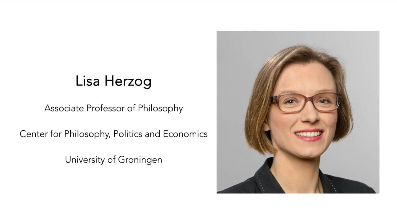Episode 22 - Lisa Herzog - Value of Work during the Pandemic